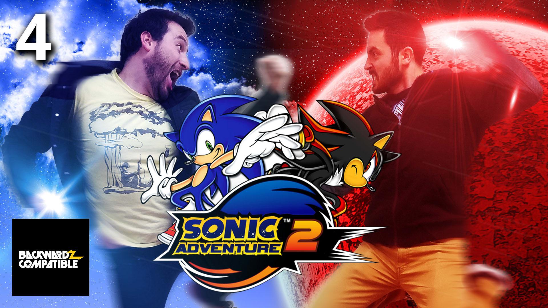 Sonic Adventure 2, #4 - Rage So Hard - Rooster Teeth