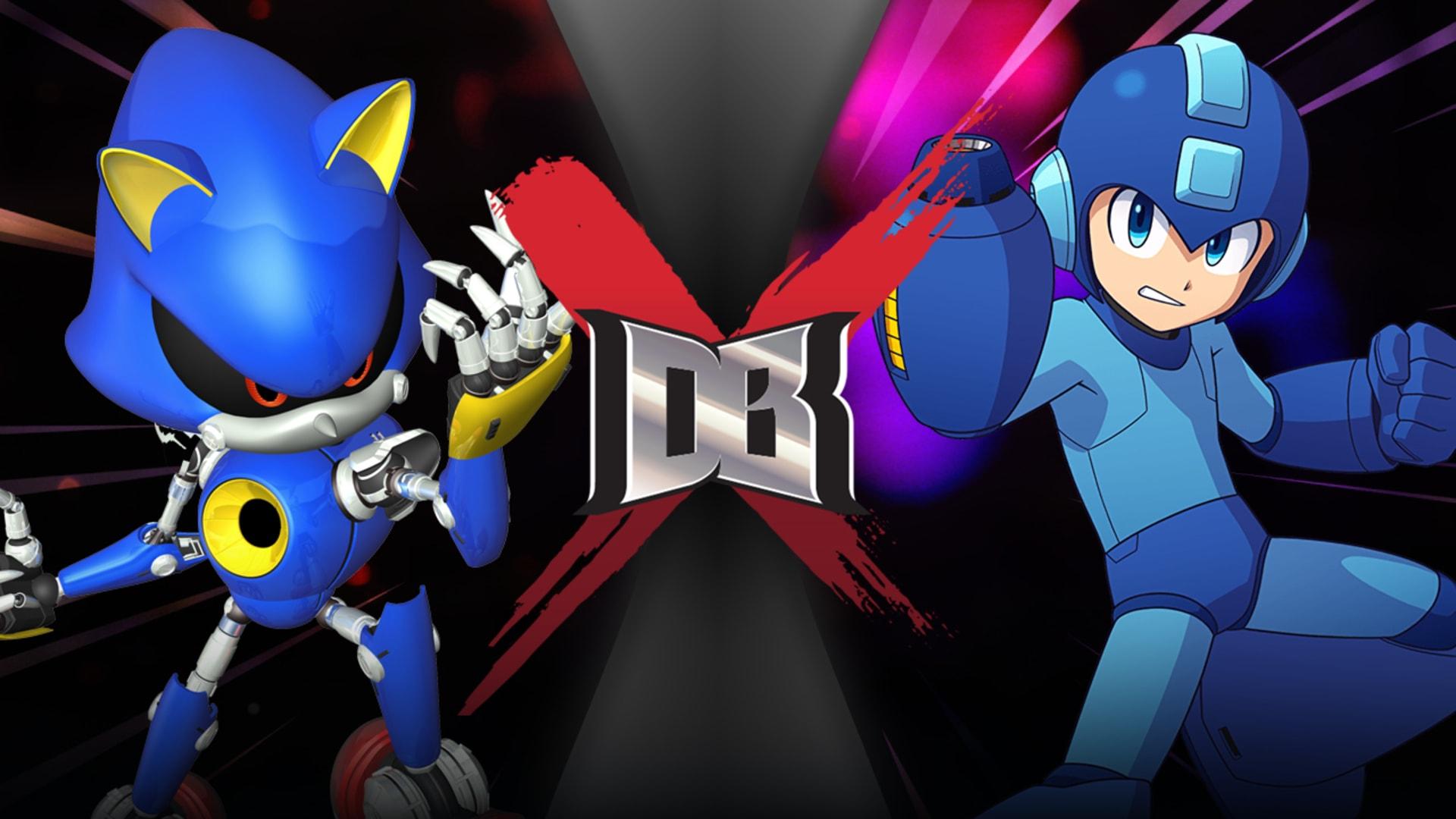 Metal Sonic Vs Mega Man Rooster Teeth