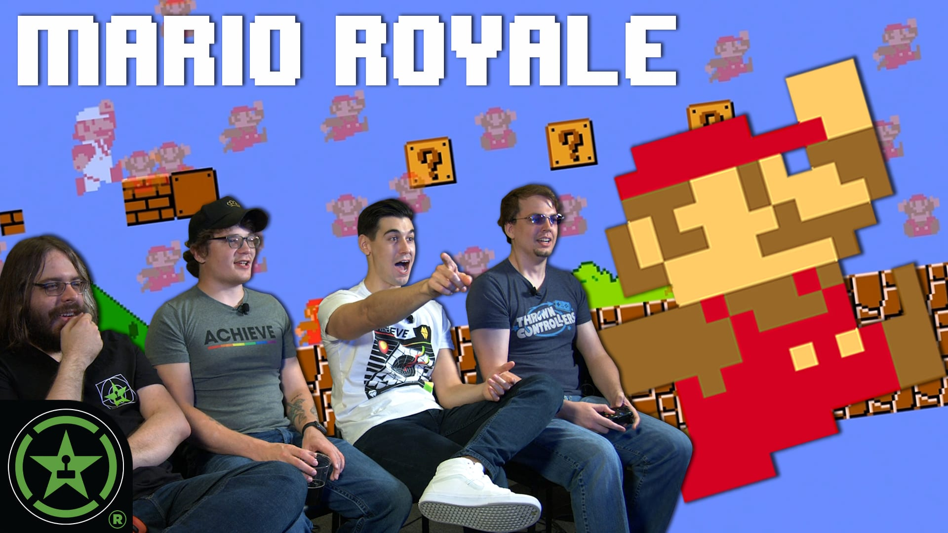 SUPER MARIO BATTLE ROYALE (Gameplay) - DMCA Royale - Rooster Teeth
