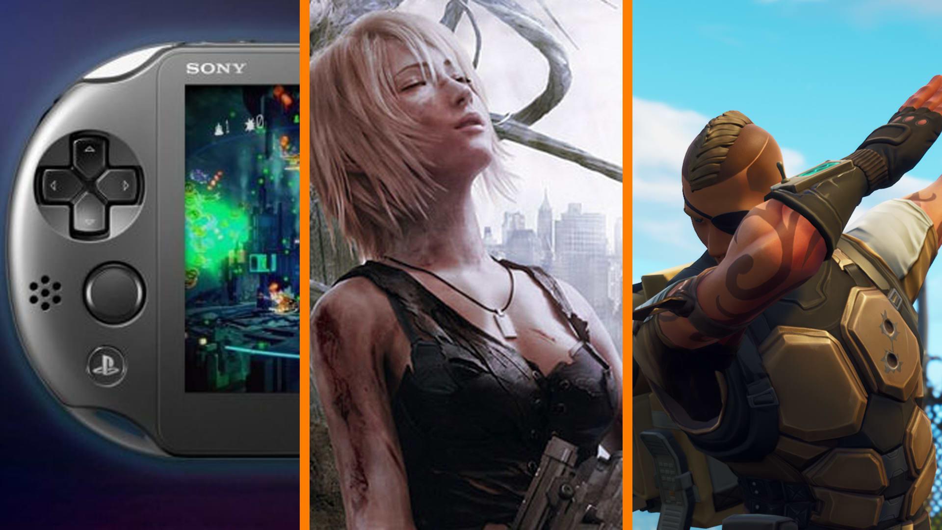 Sony Making Vita 2? + New Parasite Eve Trademark + Kids In