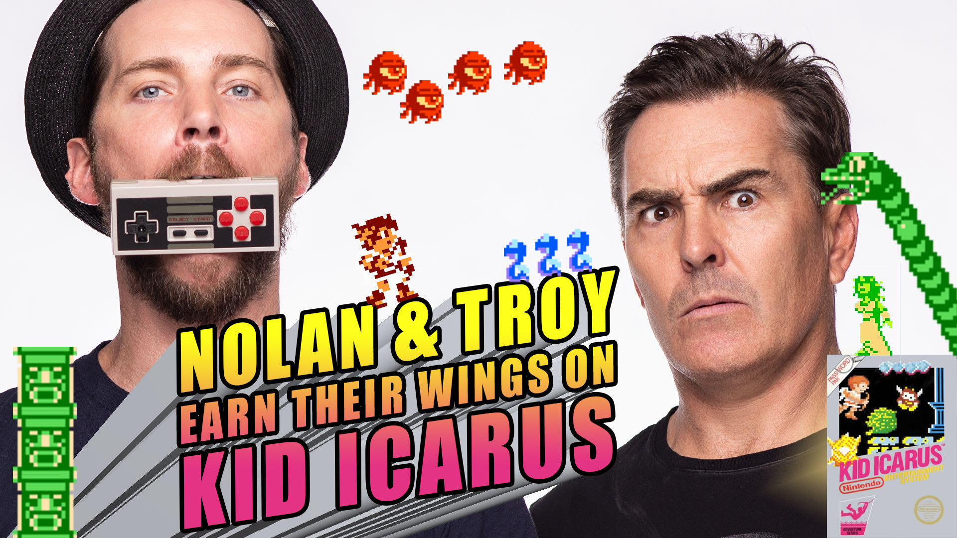 Nolan North and Troy Baker Earn Their Wings on Kid Icarus - Rooster