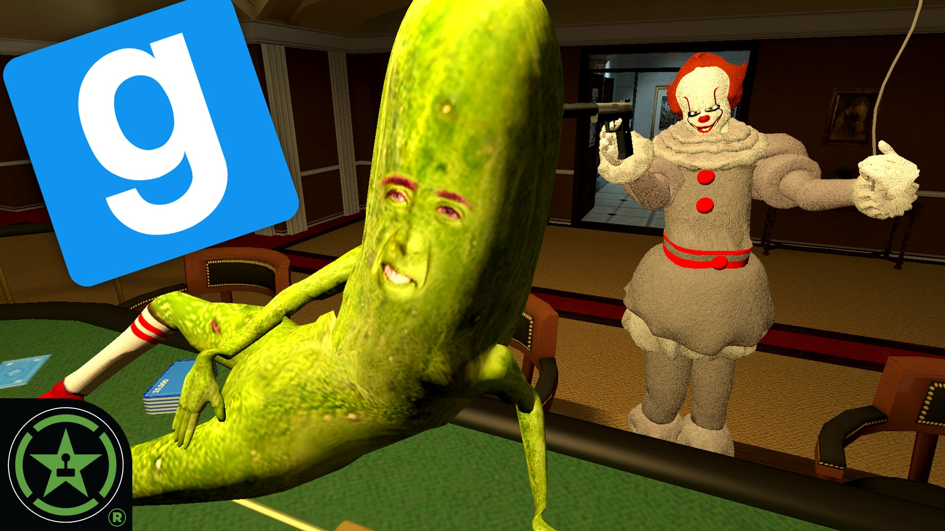 Picolas Cage will Float - Gmod TTT: All Gus August - Rooster