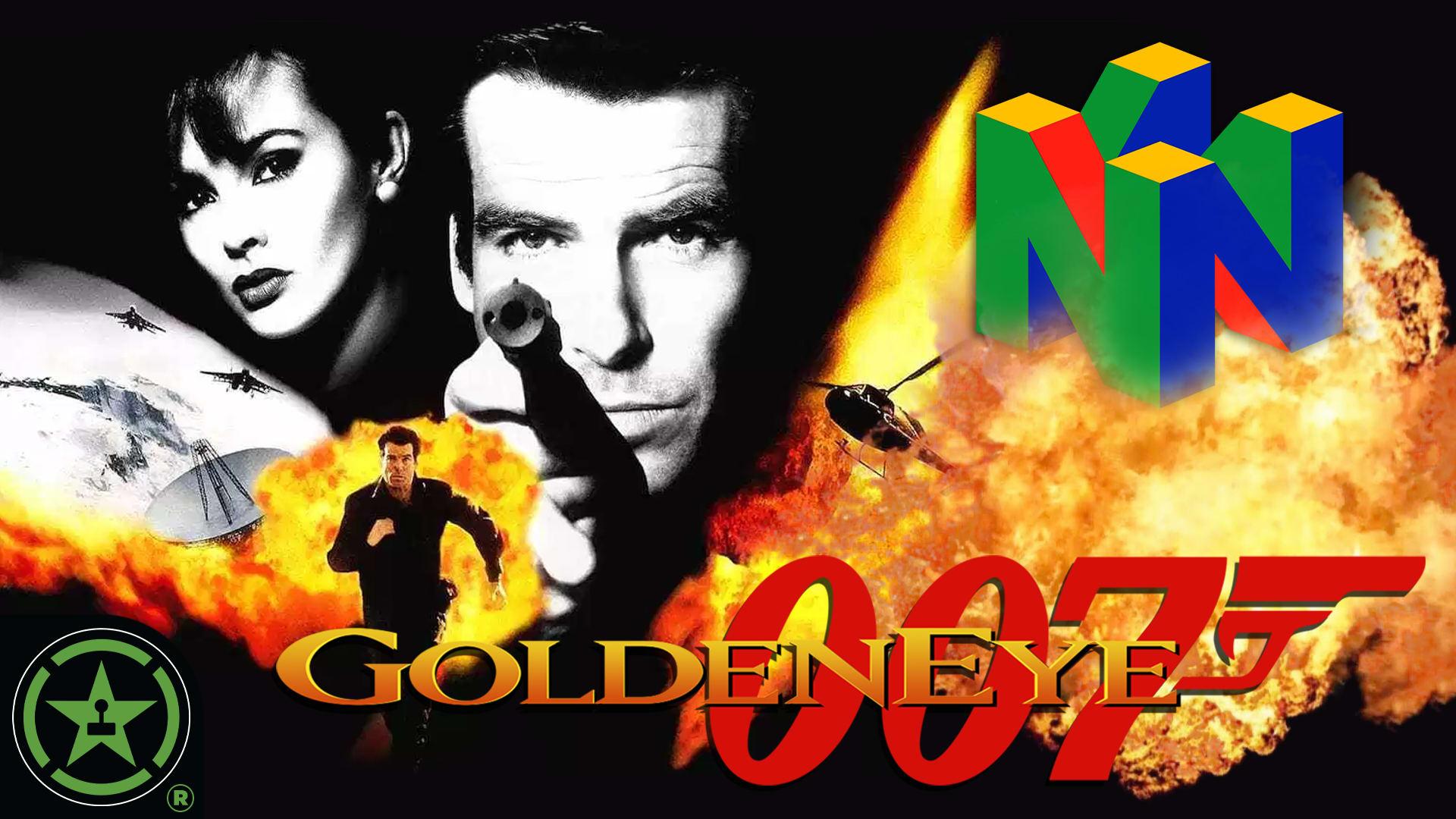 It's 1997 Again! - Goldeneye 007 (N64 Gameplay) - Rooster Teeth