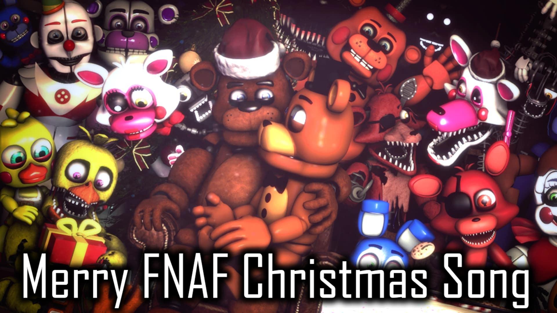 Fnaf Christmas.Merry Fnaf Christmas Song Rooster Teeth