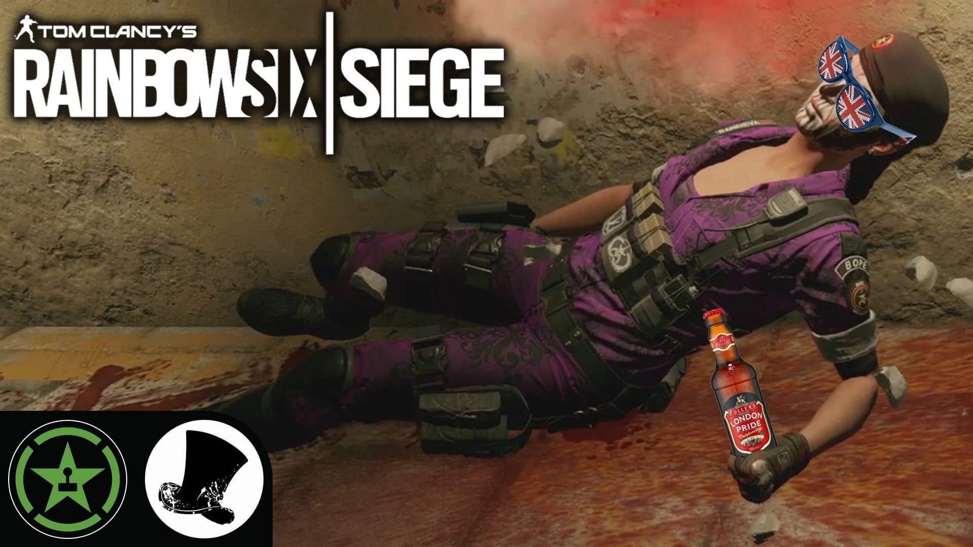 Fight with British Security - Rainbow Six: Siege - (Round 2