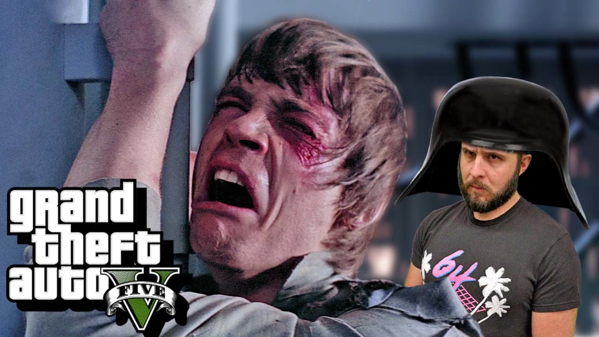 Demise of Skywalker - GTA 5 Funny Moments - Rooster Teeth