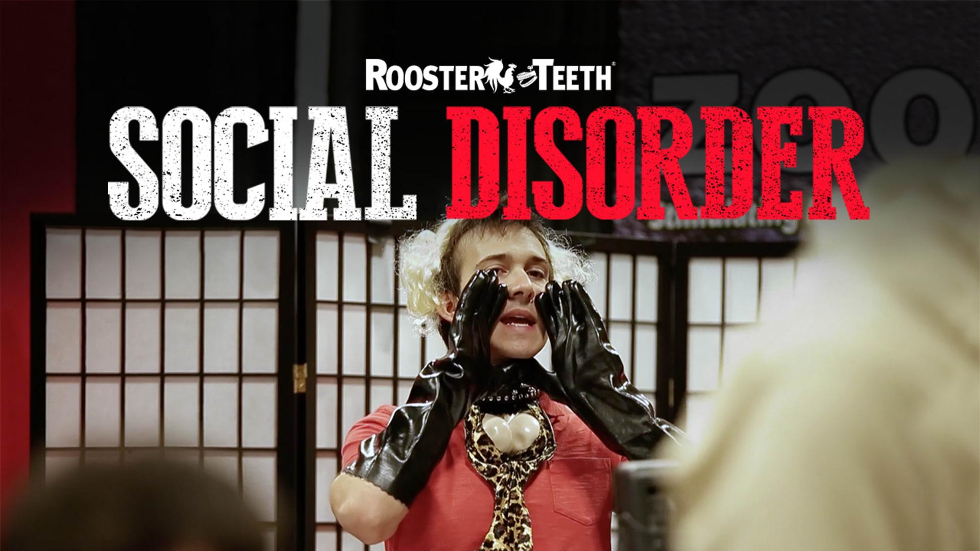 roosterteeth social disorder speed dating