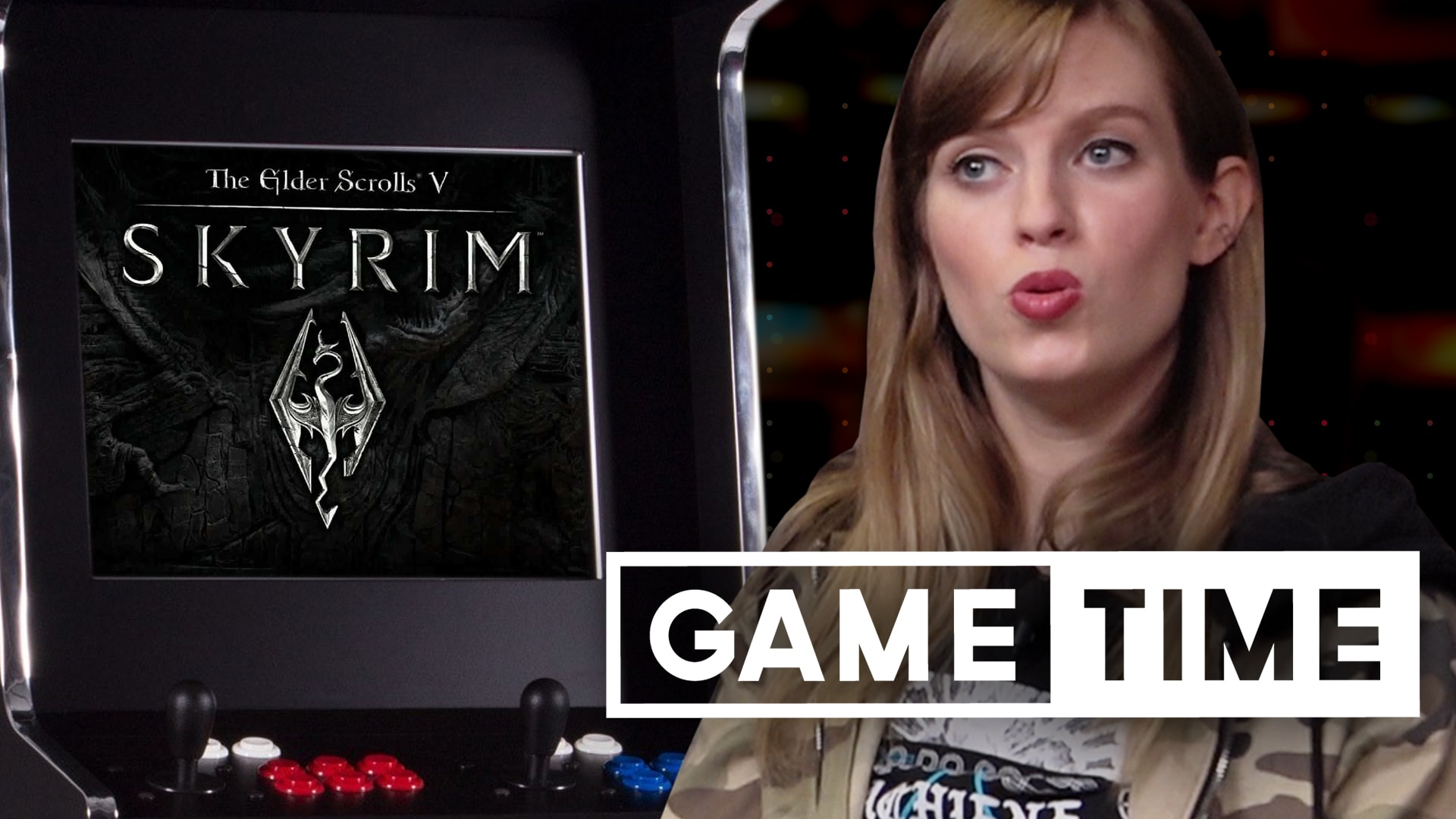 Skyrim VS a Bucket for Dorth-E - Rooster Teeth