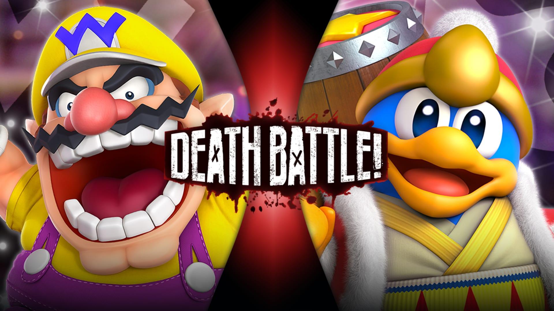 Wario VS King Dedede (Mario VS Kirby) - Rooster Teeth