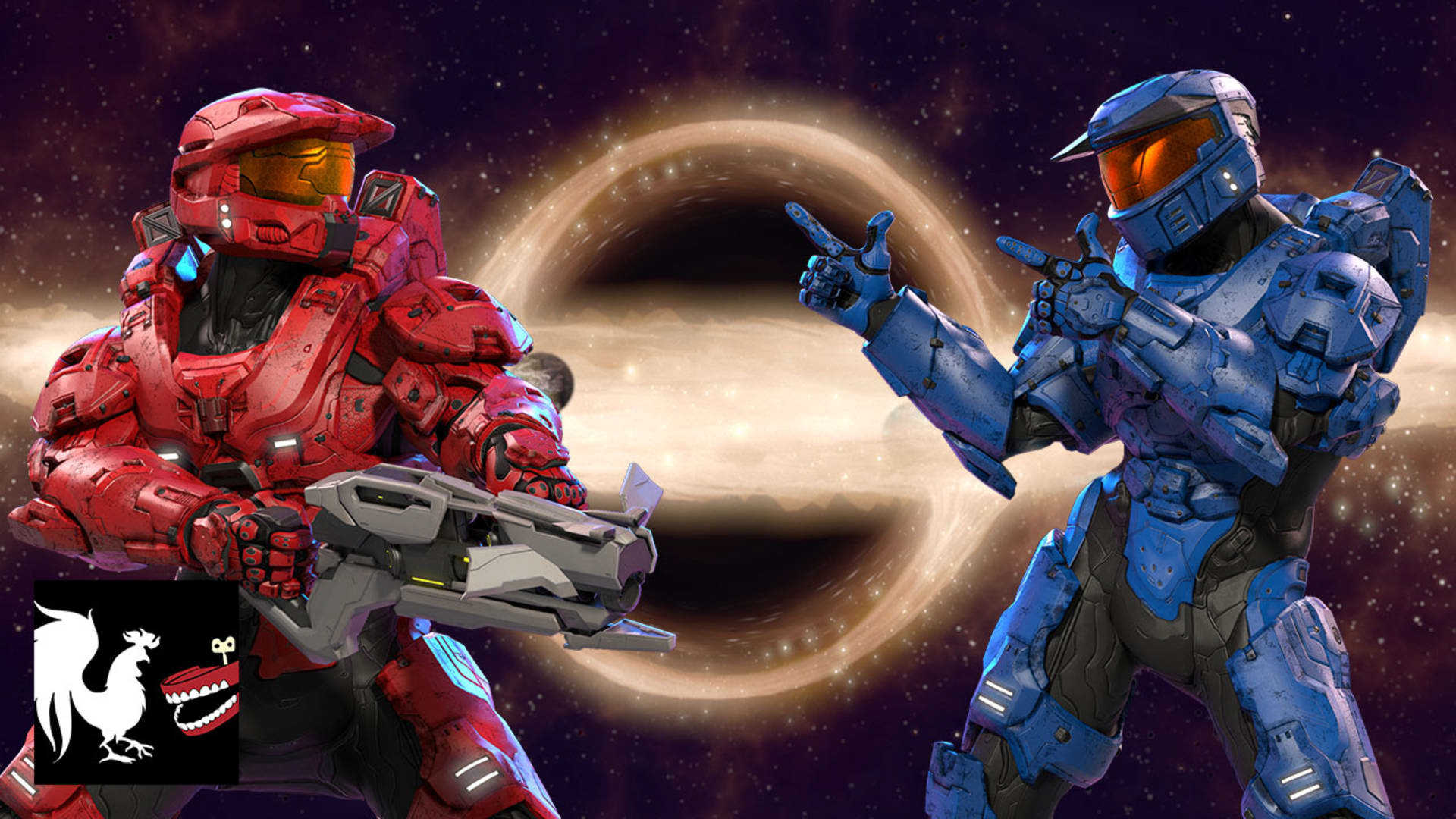 Red Vs Blue Season 16 Intro Rooster Teeth
