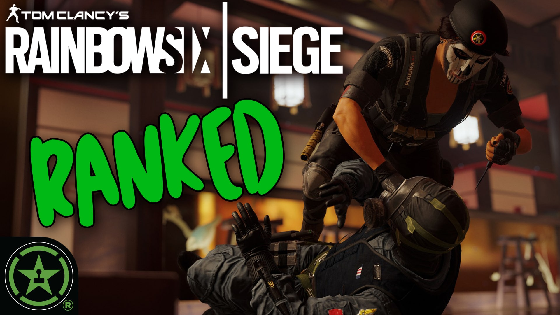 Full Ranked Placement Match #1 (Good Omen) - Rainbow Six: Siege
