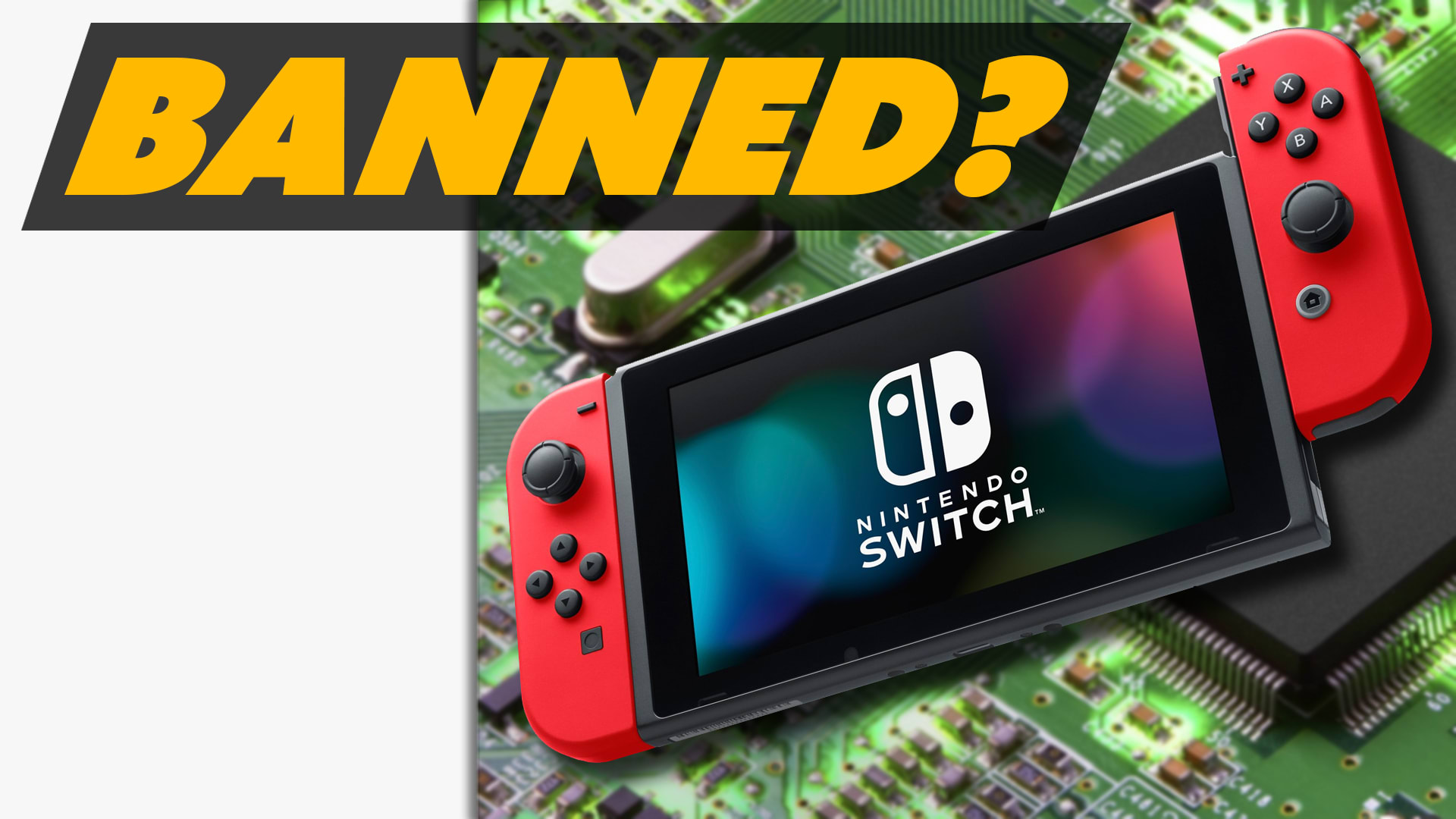 Switch to be BANNED in the US? - Rooster Teeth