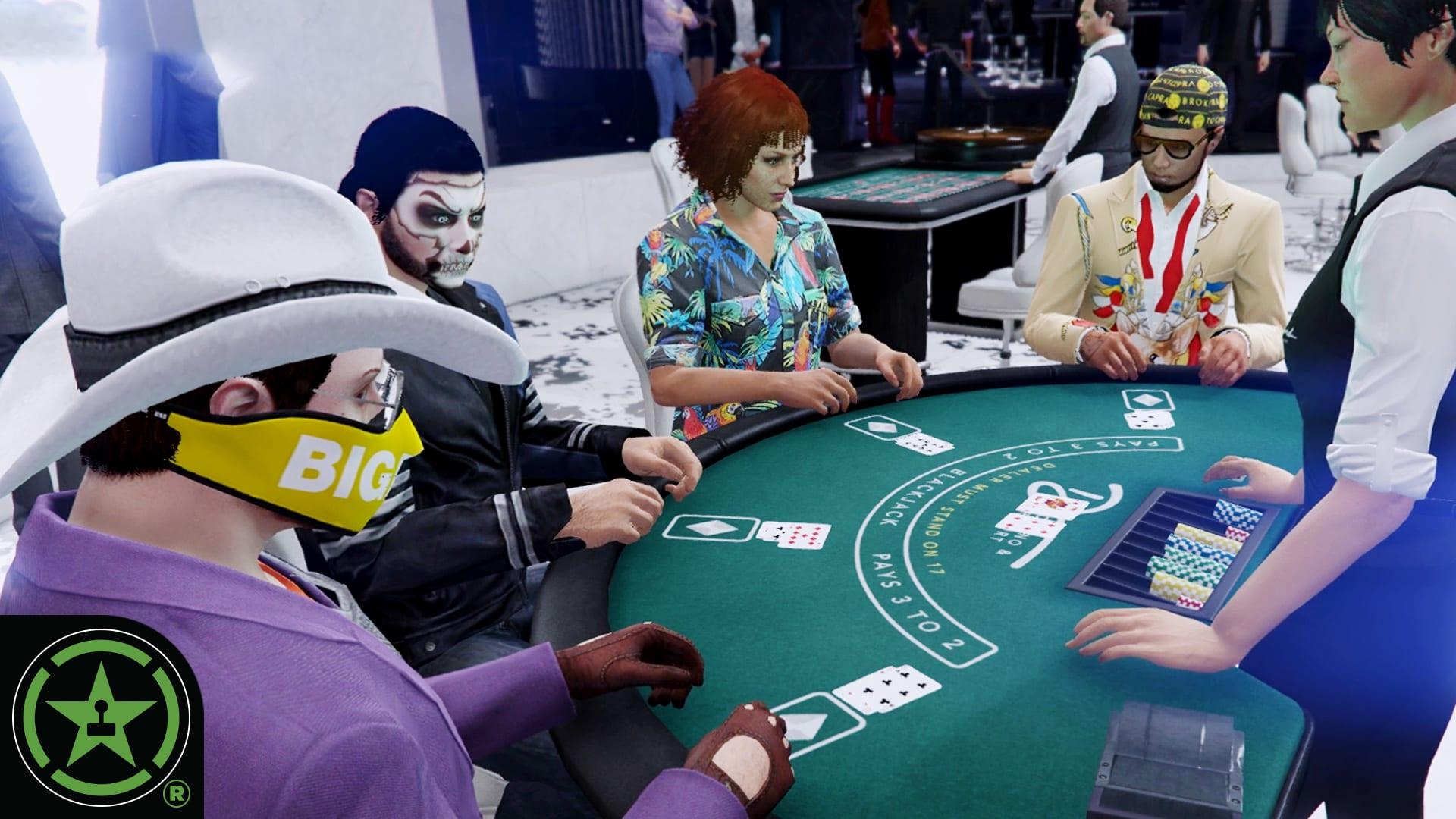 Diamond Casino Chaos - GTA V: Casino Update - Rooster Teeth