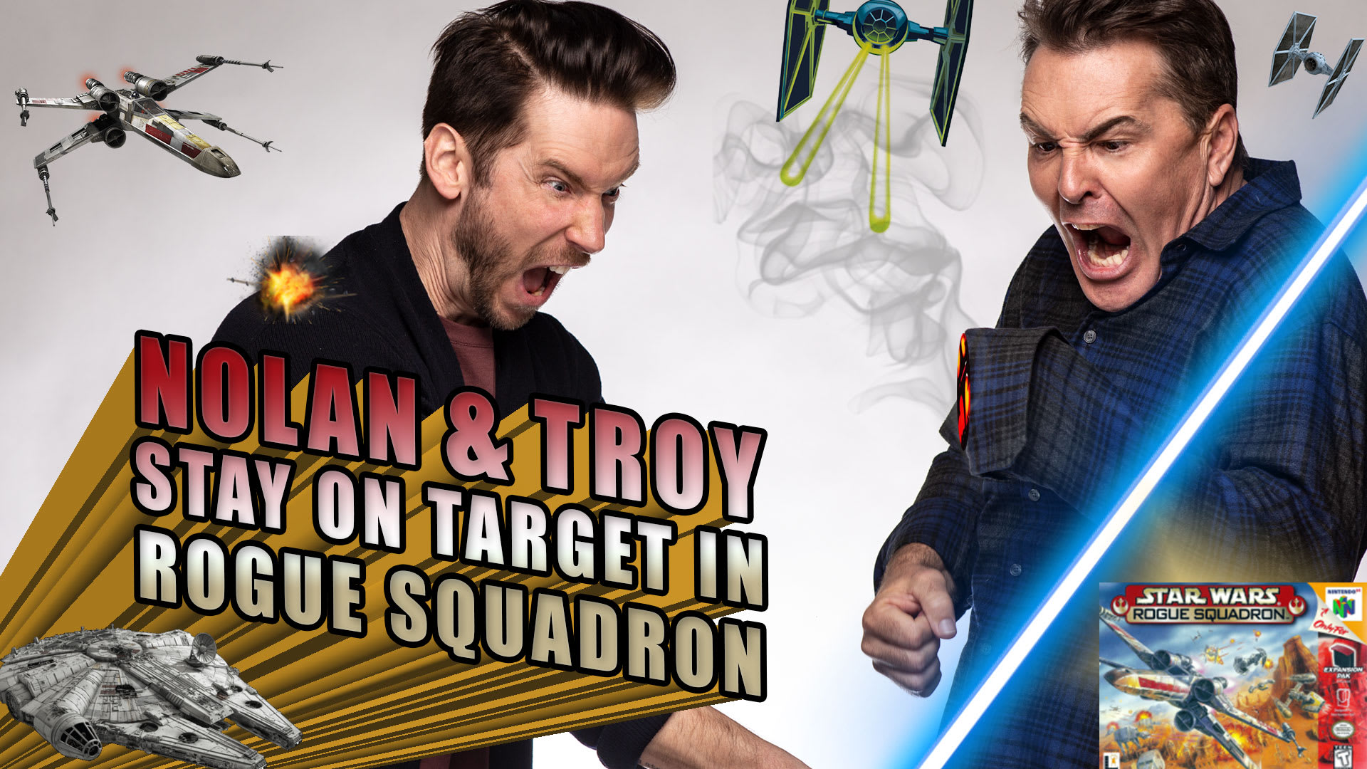 Nolan North and Troy Baker Stay on Target in Star Wars Rogue