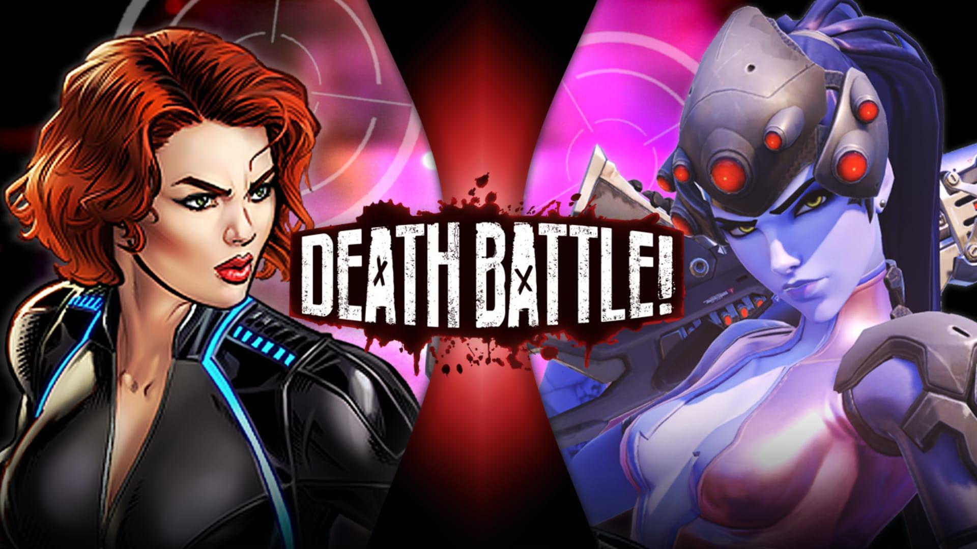 Black Widow VS Widowmaker (Marvel VS Overwatch) - Rooster Teeth