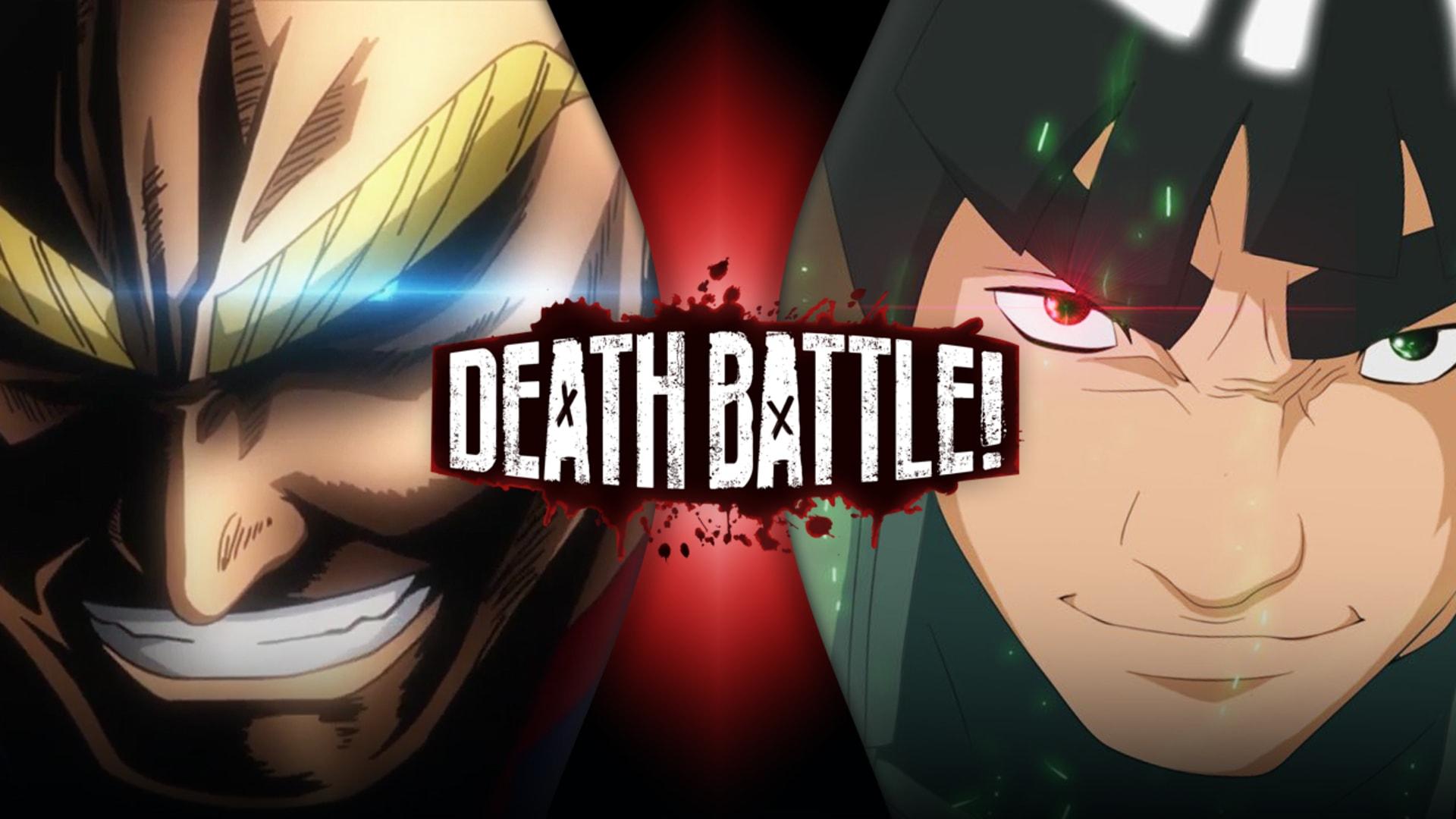 All Might Vs Might Guy My Hero Academia Vs Naruto