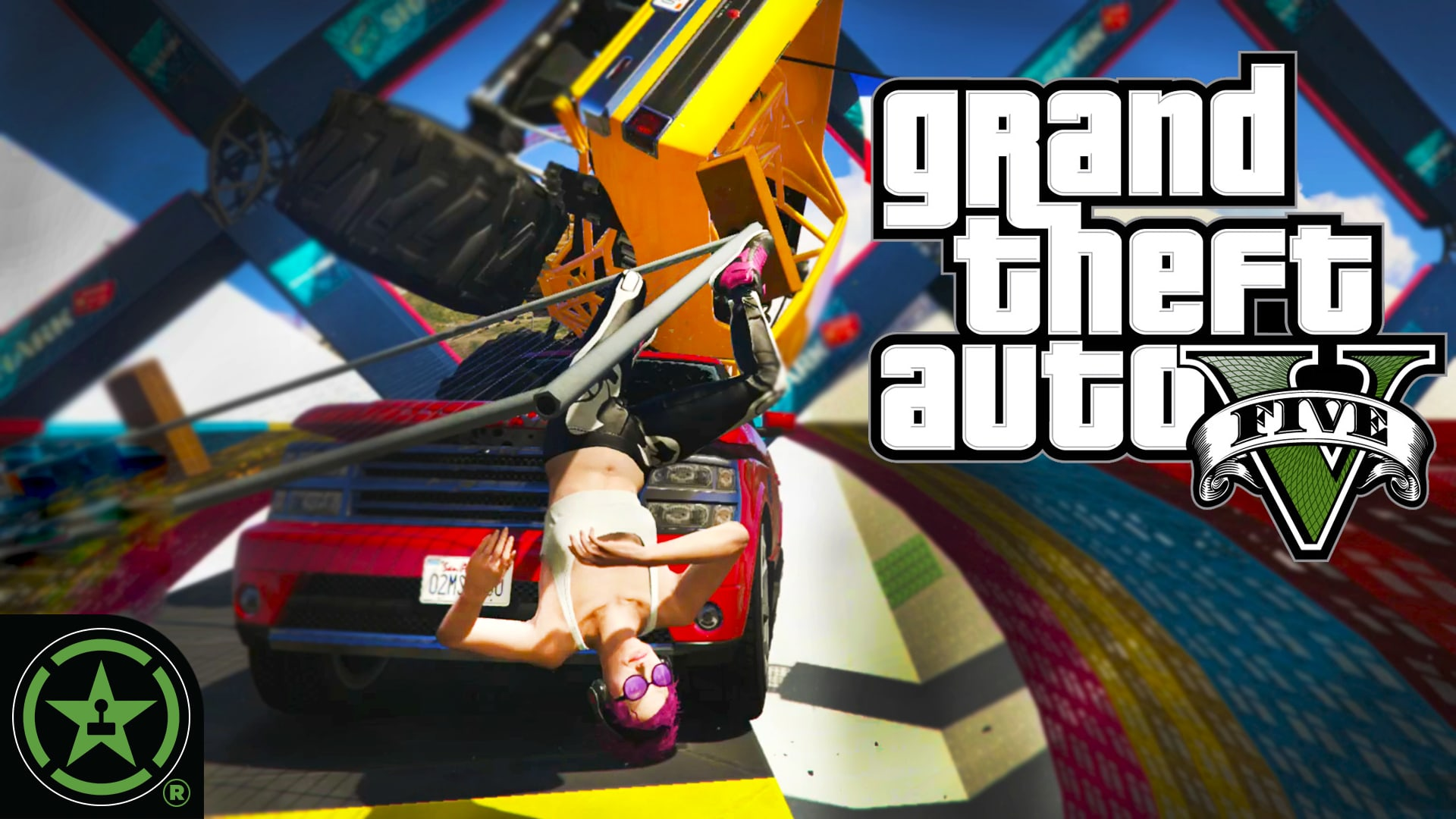 Lets Play GTA V: Cars, Carnage, and Cardio - GTA V
