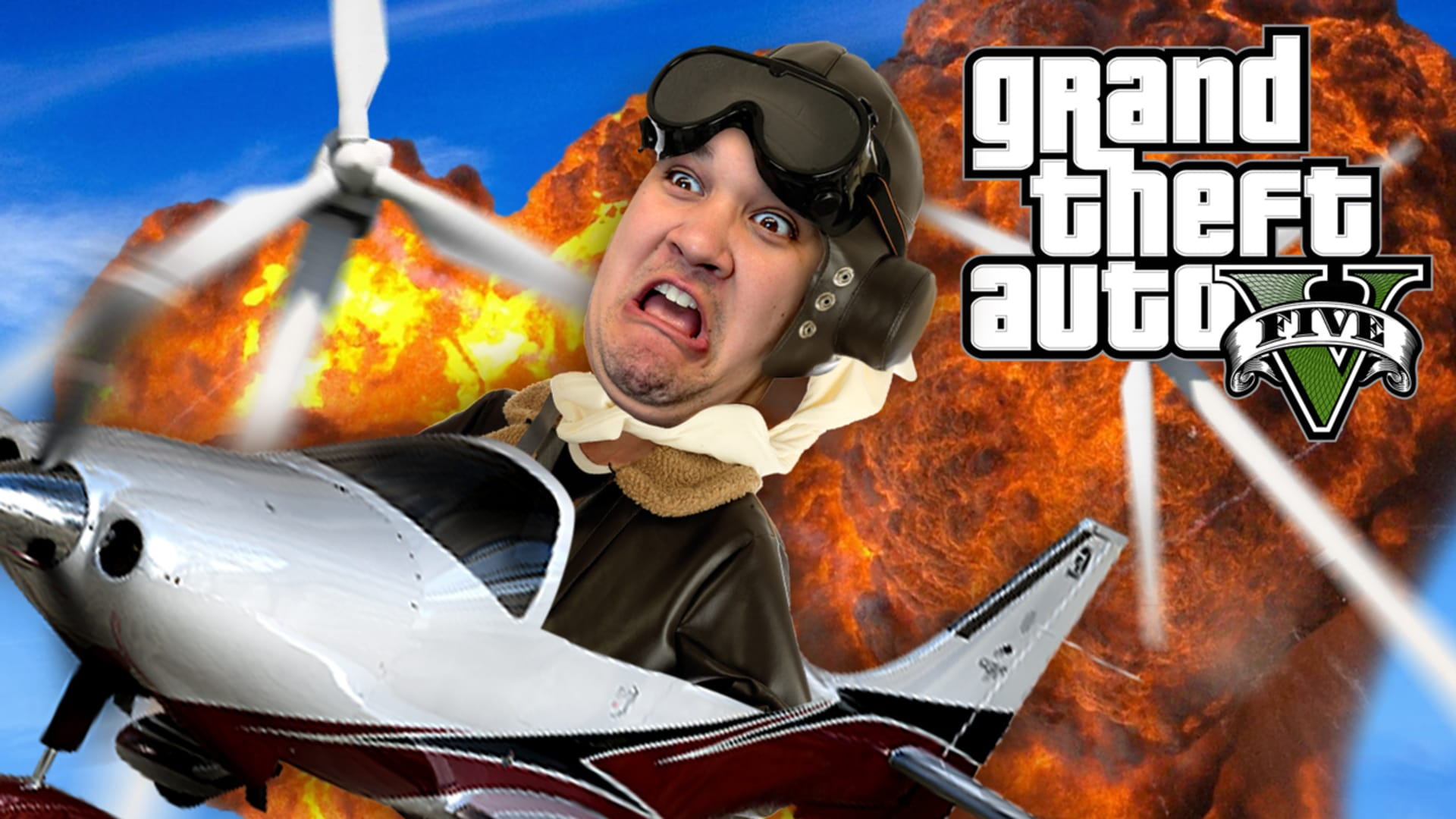 Blade Outrunners Gta 5 Stunt Race Funny Moments Rooster Teeth