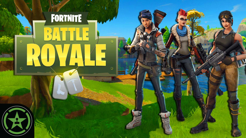 Fortnite Battle Royale Ah Live Stream Rooster Teeth