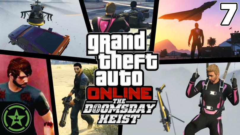 GTA V - The Doomsday Scenario: Prep - Doomsday Heist (#7