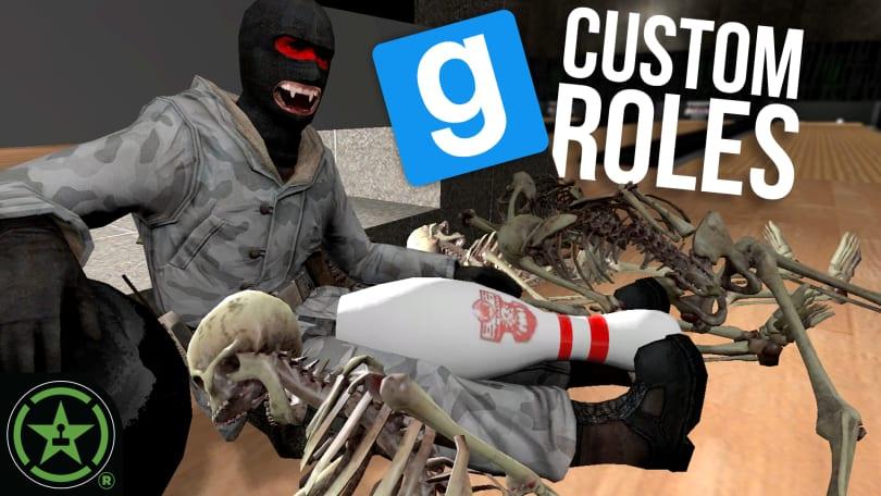 CUSTOM ROLES IN TTT - Gmod Gune: TTT (feat  Chef Mike) - Rooster Teeth